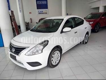 Foto venta Auto usado Nissan Versa Sense Aut (2018) color Blanco precio $169,900