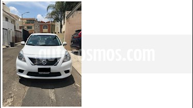 Nissan Versa Sense Aut  usado (2013) color Blanco precio $125,000