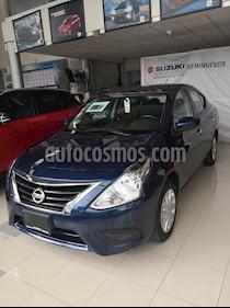 foto Nissan Versa Sense Aut usado (2018) color Azul precio $186,000