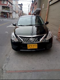Foto venta Carro Usado Nissan Versa Sense  (2017) color Negro precio $31.500.000