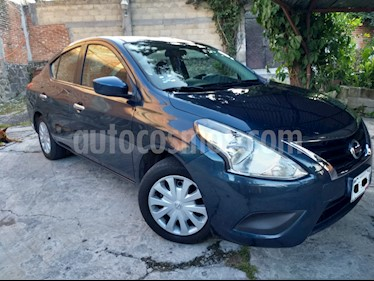 Foto venta Auto usado Nissan Versa Sense (2015) color Azul precio $127,000