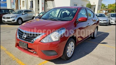 Foto venta Auto usado Nissan Versa Sense (2018) color Rojo precio $175,900