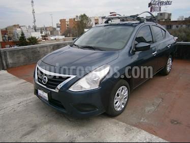 Foto venta Auto Seminuevo Nissan Versa Sense (2015) color Azul precio $135,000