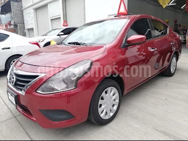 Foto venta Auto usado Nissan Versa Sense (2018) color Rojo precio $168,000