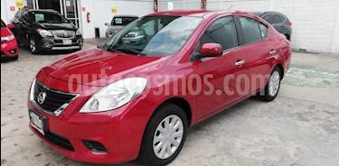 Foto venta Auto usado Nissan Versa Sense (2013) color Rojo precio $115,000