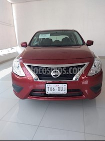 Foto venta Auto usado Nissan Versa Sense (2018) color Rojo precio $179,000