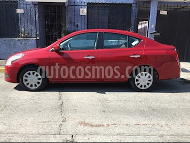 Foto venta Auto usado Nissan Versa Sense (2015) color Rojo precio $135,000