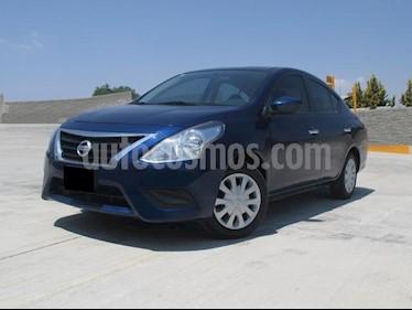 Foto venta Auto usado Nissan Versa Sense (2018) color Azul precio $183,000