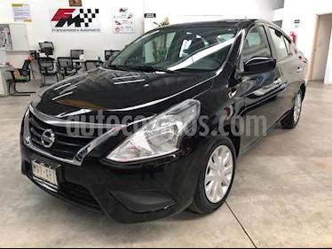 Foto venta Auto usado Nissan Versa Sense (2018) color Negro precio $179,000