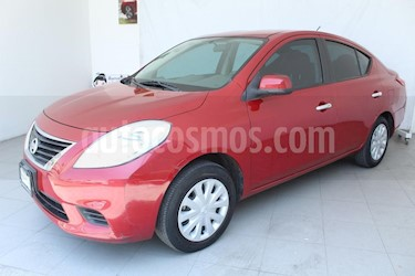 Foto venta Auto usado Nissan Versa Sense (2015) color Rojo precio $119,000