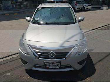 Foto venta Auto usado Nissan Versa Sense (2018) color Plata precio $176,000