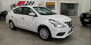 Foto venta Auto usado Nissan Versa Sense (2018) color Blanco precio $180,000