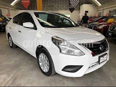 Foto venta Auto usado Nissan Versa Sense (2018) color Blanco precio $179,000