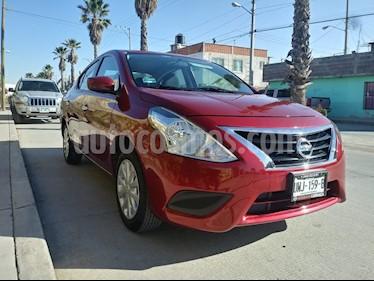 Foto venta Auto usado Nissan Versa Sense (2017) color Rojo precio $165,000