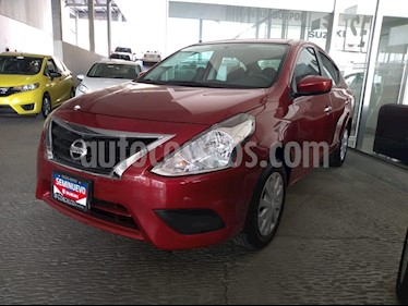 Foto venta Auto usado Nissan Versa Sense (2018) color Rojo precio $185,000