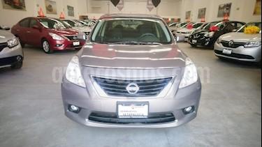 Foto venta Auto usado Nissan Versa Sense  (2014) color Acero precio $140,000