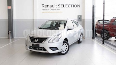 Foto venta Auto usado Nissan Versa Sense (2015) color Plata precio $143,000