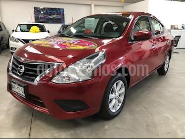 Foto venta Auto usado Nissan Versa Sense (2019) color Rojo precio $195,000