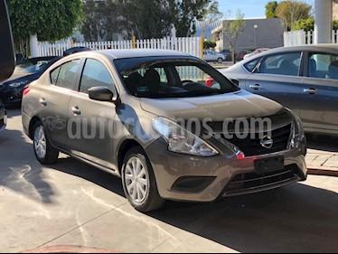 Foto venta Auto usado Nissan Versa Sense (2017) color Marron precio $159,000