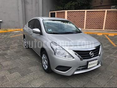 Foto venta Auto usado Nissan Versa Sense (2017) color Plata precio $168,000