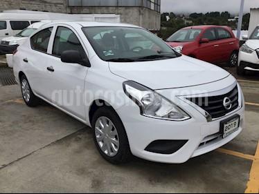 Foto venta Auto usado Nissan Versa VERSA  DRIVE MT AC (2019) color Blanco precio $179,000