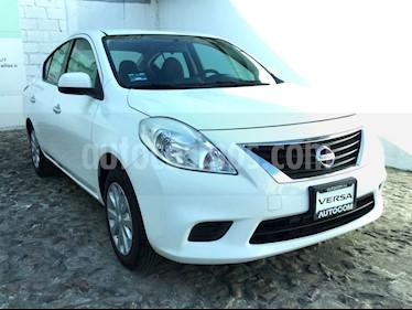 Foto venta Auto usado Nissan Versa VERSA 1.6 SENSE TA AC 4P (2014) color Blanco precio $129,000