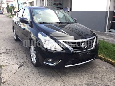 Foto venta Auto Seminuevo Nissan Versa VERSA ADVANCE AT (2017) color Negro precio $145,000