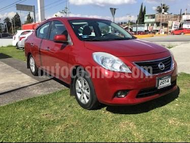 Foto venta Auto Seminuevo Nissan Versa VERSA ADVANCE MT (2014) color Rojo precio $134,000