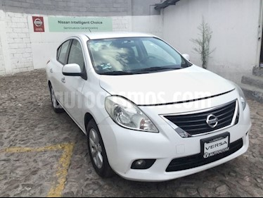 Foto venta Auto usado Nissan Versa VERSA ADVANCE TA (2014) color Blanco precio $140,000
