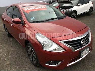 Foto venta Auto Seminuevo Nissan Versa VERSA EXCLUSIVE AT (2017) color Rojo precio $200,000