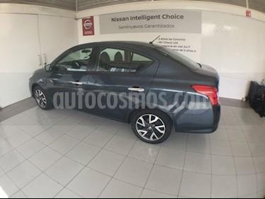 Foto venta Auto Seminuevo Nissan Versa VERSA EXCLUSIVE AT (2017) color Azul precio $201,000