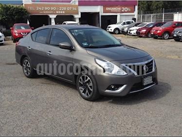 Foto venta Auto usado Nissan Versa VERSA EXCLUSIVE AT (2017) color Acero precio $200,000