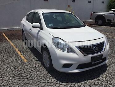 Foto venta Auto usado Nissan Versa VERSA SENSE TA AA (2014) color Blanco precio $130,000