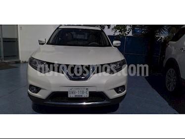 Nissan X-Trail 5 PUERTAS EXCLUSIVE 2 ROW usado (2016) color Blanco precio $285,000