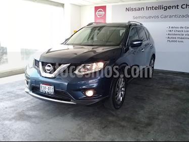 Foto venta Auto usado Nissan X-Trail 5p Advance 2 L4/2.5 Aut (2016) color Azul precio $270,000