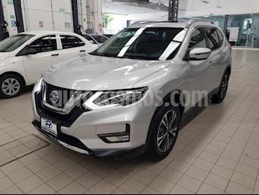 Foto venta Auto usado Nissan X-Trail 5p Advance 3 L4/2.5 Aut Banca abatible (2018) color Plata precio $399,000