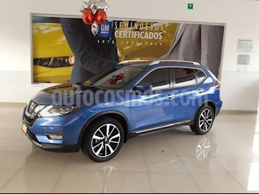 Foto venta Auto usado Nissan X-Trail 5p Exclusive 2 L4/2.5 Aut (2018) color Azul precio $410,900
