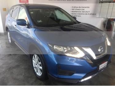 Foto venta Auto usado Nissan X-Trail 5p Sense 2 L4/2.5 Aut (2019) color Azul precio $380,000