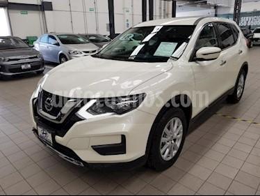 Foto venta Auto usado Nissan X-Trail 5p Sense 3 L4/2.5 Aut Banca abatible (2018) color Blanco precio $360,000