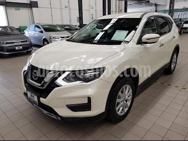 Foto venta Auto usado Nissan X-Trail 5p Sense 3 L4/2.5 Aut Banca abatible (2018) color Blanco precio $345,000