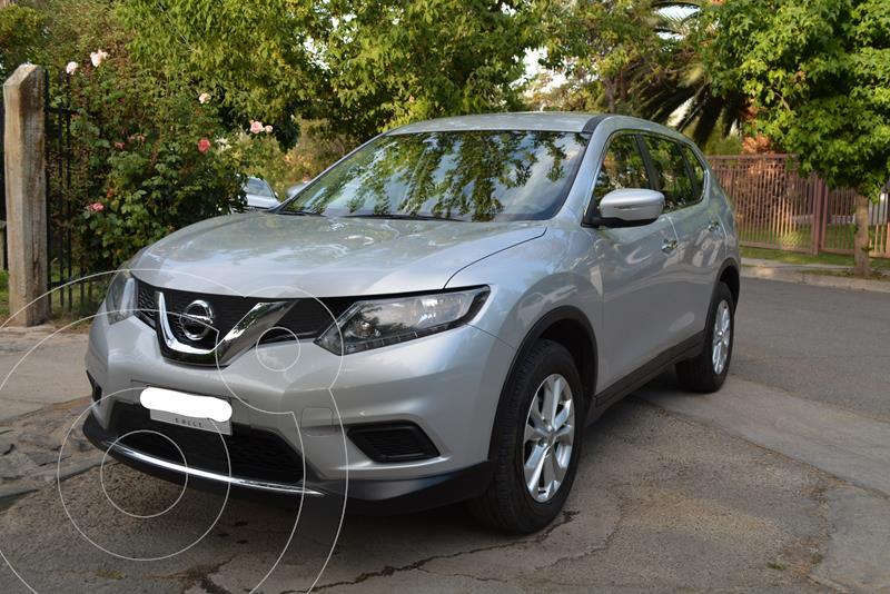Nissan X-Trail 2.5L Sense 2F usado (2017) color Plata precio $14.000.000