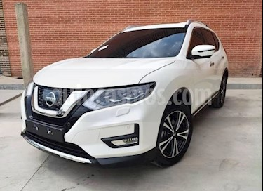 Nissan X-Trail  Exclusive 4x4 usado (2018) color Blanco precio $65.000.000