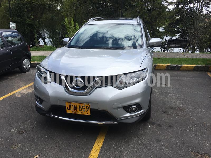 Nissan X-Trail  Exclusive 4x4 usado (2017) color Plata precio $78.000.000