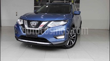 Nissan X-Trail Exclusive 2 Row usado (2018) color Azul precio $370,000