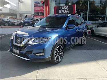 Foto Nissan X-Trail Exclusive 2 Row usado (2018) color Azul precio $410,000