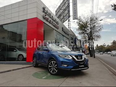 Foto venta Auto Seminuevo Nissan X-Trail Exclusive 2 Row (2018) color Azul precio $445,000