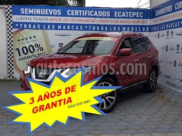Foto Nissan X-Trail Exclusive 3 Row usado (2018) color Rojo precio $409,000