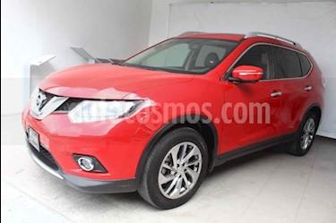 Nissan X-Trail Exclusive 3 Row usado (2017) color Rojo precio $309,000