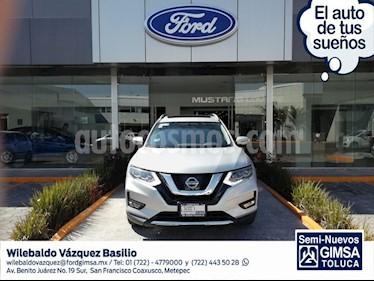 Foto venta Auto usado Nissan X-Trail Exclusive (2018) color Plata precio $424,000
