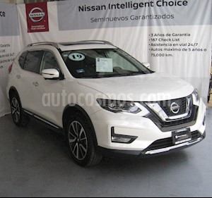 Nissan X-Trail Exclusive usado (2019) color Blanco precio $430,000